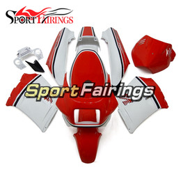 Complete Fairing Kits Yamaha Australia - 1985 RZV500 Red White Complete Motorcycles FairingS For Yamaha RZV500 Year 1985 ABS Plastic Motorcycle Body Kit Bodywork Customize New