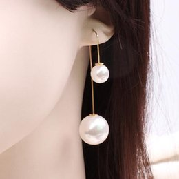 6790173460232 Shop Double Dangle Earrings Balls UK | Double Dangle Earrings Balls ...