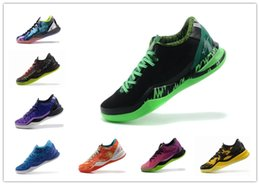 buy online c88d8 f8ae5 hot Multicolor What the kobe 8 VIII System Top Basketball Shoes for Cheap  Classic KB 8s Mamba Assassin Easter Master Sports Sneakers Size 40