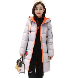 China 2018 New Winter Plus Size Down jacket Women Parka Thicken Slim Korean Cotton Clothes Women's Long Section Female Hooded Jacket supplier korean red clothes suppliers
