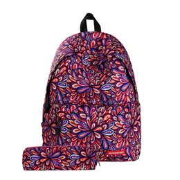 Starry Sky Backpack NZ - Fashion Design Student Backpack 3D Printing Knapsack Starry Sky Pattern Teenagers Backpack Large Capacity Message