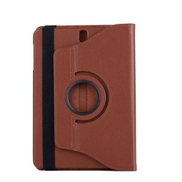 Pen For S3 Australia - Cover PU Leather Case For Samsung Galaxy Tab S3 9.7 T820 T825 Tablet Flip Stand Smart 360 Rotating Cover Coque+Stylus Pen+Film.