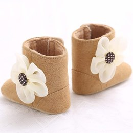 $enCountryForm.capitalKeyWord NZ - Autumn Baby Boot Sofe Anti-slip Flower Newborn Boys Girls Shoes Flower Snow Boots Soft Crib Shoes Toddler Boots #c