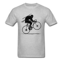 5f4db908dc Ninja Biker TShirt Unique T Shirts Special Comics Tops T-Shirt Short Sleeve  Clothes For Men Cotton Summer Autumn Grey Tees