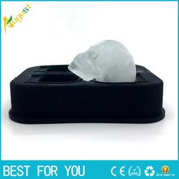 Hot Bar Australia - New hot Bar making ice mold Creative 4 Steamed Ice Cube Halloween Bone Ice Cube Mould