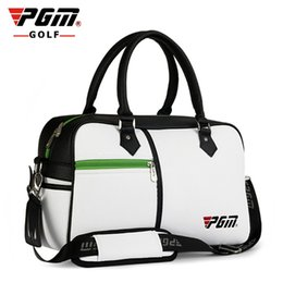 Discount new packaging products - YWB017 PGM New Product ladies Golf bag Clothing Articles Daily PU Ball Capacity Clothes Package Direct Golfbag Designer