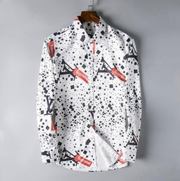 $enCountryForm.capitalKeyWord Canada - Wholesale-New 2019 High quality Mens Shirts Designer Brand Fashion Business Casual Dress Shirt with french cufflinks Free Shipping #187