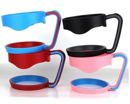 30oz 20oz portacandele portatile in plastica per portatile con manico a mano porta tazze per 20 once 30 oz tazze maniglia da DHL