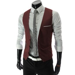 $enCountryForm.capitalKeyWord Australia - Tank Tops for Men Slim Fit Mens Suit Vest Male Waistcoat Gilet Homme Colete Masculino Social Formal Business Casual Suit Vest Jacket 4xl