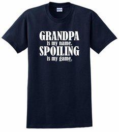 Großhandel Großvater ist mein Name, der mein Spiel-T-Shirt verwöhnt
