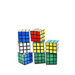 Puzzles gifts online shopping - Magic cube Puzzle Cube Toys x3x3 Educational Classic Solid for children boys kids birthday gift intelligent game NNA724