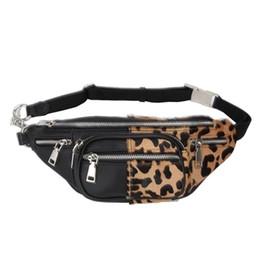 $enCountryForm.capitalKeyWord UK - Quality Leopard stitching Velvet Sheepskin Chain Waist Bag Bananka Travel Leisure Fanny Pack Women Walking Belly Band Belt bag
