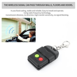 Wireless Door Key Australia - 10PCS Wireless Auto Copy Remote Control Duplicator 330MHz Face to Face Copy Privacy Garage Doors Key Auto Gate Doors Key