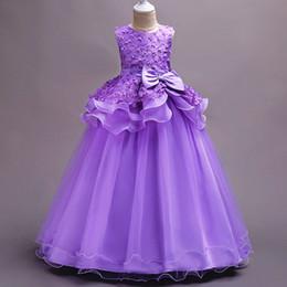 6c7db0de5f Ball Gown Flower Girl Dresses Baby Girls DressFor Wedding Pink Children  Evening Dresses FlowerKids Princess Dress Lace BabyGirl Ball Gown