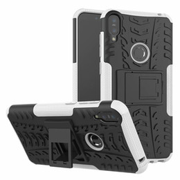 m1 cases Australia - For Asus ZB601KL Case Colorful Rugged Combo Hybrid Armor Bracket Impact Holster Protective Cover Case For Asus Zenfone Max Pro M1 ZB601KL