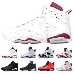 fresh fishing Canada - Fresh 6s Marron Alternate the master White Infared basketball shoes for men 6s Angry bull Infrared Oreo UNC Olympic men sports shoes