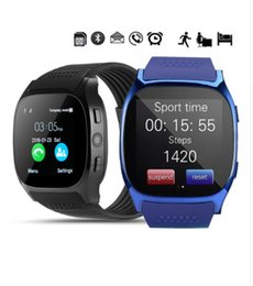 Wholesale T8 Bluetooth Smart Watch Support SIM TF Card With Camera Sync Call Message Men