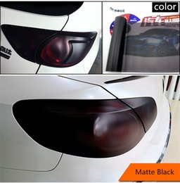 Wholesale 40cm cm Car Light Films Car Headlight Taillight Fog Light Vinyl Smoke Tint Film Sticker Cover inch x inch Car Decoration