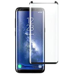 Pour Samsung Galaxy S9 Plus S8 S8Plus Note9 Note8 S7edge Note 9 8 S7 Edge 3D Étui Coque Intégrale Amicale Trempé Verre Protection Écran Téléphone