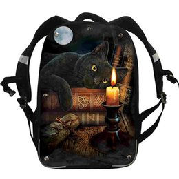 Chinese  The Witching Hour Backpack FNAF UT Wolf Animal For Women Men Boys Girls Teenager School Bags Box Lunch Pencil Case manufacturers