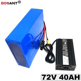 Motor Bicycles Australia - Electric Bicycle Battery 72v 40Ah Lithium Battery for Bafang BBSHD 2000W 3000w Motor E-bike Lithium Battery 72v Free Shipping