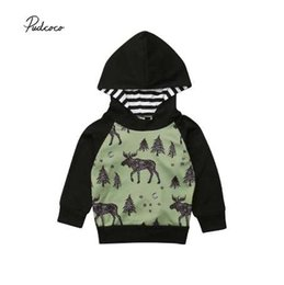 $enCountryForm.capitalKeyWord Canada - Pudcoco 2018 Baby Boy Infant Warm Sweatshirt Deer Print Long Sleeve Hooded Pullover hoodie Tops Autumn Cool Outfit Clothes 6M-4T