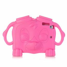 Discount plastic ipad mini stand - Cut Dog Non-Toxic Kids Shockproof EVA Foam Handle Stand Cover Case for iPad Mini 1 2 3 4 Galaxy Tab 7.0 40pcs lot