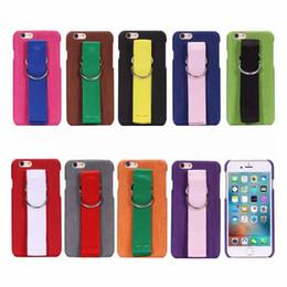 Arm tAssels online shopping - Korean Super Popular Canvas Arm Belt Tassels Hard PC Case Cover For Iphone X S Plus