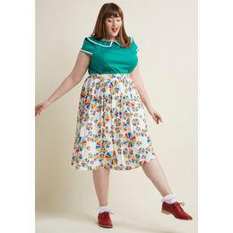 Discount rainbow pencils - Colorful Pencil Midi Skirt Women A line High Waist Elegant Office Lady Swing Skirt Rainbow Pinwheels Pattern Summer Autu