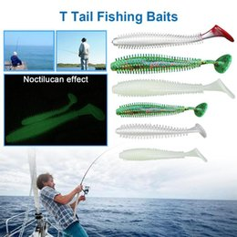 T Bait Australia - Fishing Lures 5pcs T Long Grubs 9cm 4g Curly Tail Soft Lure Long Curly Tail Fishing Lure Artificial Bait