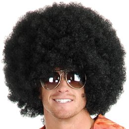 2018 black hair costumes #1 Afro hair from Black or Brown Wigs Fancy Costume - Funny Wig - Party Costume Wig discount black hair costumes
