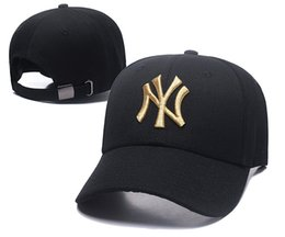 Chinese  2019 New Golf Visor NY Classic Navy Blue Color Snapback Hat Logo Embroidery Sport TB Adjustable Baseball Caps Flat Brim Baseball Hats manufacturers