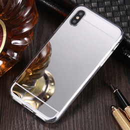 $enCountryForm.capitalKeyWord Canada - Mirror Electroplating Case Deluxe TPU Protective Cover For iPhone XS Max XR X 8 7 Plus Samsung Galaxy S10 E S9 S8 Note 9 M10 M20 A30 A50 J4