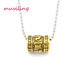 $enCountryForm.capitalKeyWord Australia - Luxury design Ring Pendants Necklace Chain Stainless Steel Jewelry For Women Charms Healing Chakra Amulet Fashion Accessories