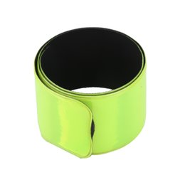 Running Flight Tracker New 40cm Reflective Strap Bracelet Wrist Ankle Arm Band Riding Green Night Light Safety For Walking Running Riding