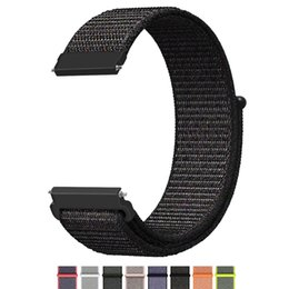 China 22mm 20mm Universal Nylon Watch Strap For Samsung Gear S3 S2 Classic Sport Replacement Watch Bands with Adjustable Closure supplier watch band closures suppliers