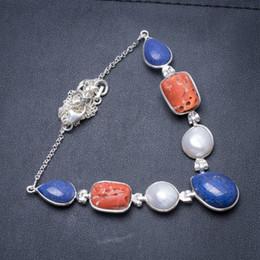 caeec3ae4e69 Collar de plata de ley 925 hecho a mano con lapislázuli