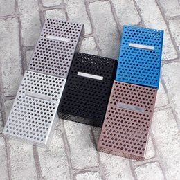 aluminium alloy case 2019 - Hollow Out Magnetic Case Cover Up Metal Aluminium Alloy Box With Colorful Casket Luxurious Factory Direct Mens Designer