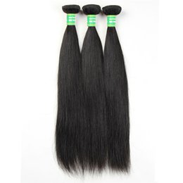 Chinese  Unprocessed Peru Malaysia Brazilian virgin hair is 100% human hair weaving 7A straight hair natural color 3 beam 8-28 inches no loss manufacturers