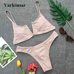 $enCountryForm.capitalKeyWord Canada - 4 colors 2018 Bather Brazilian Bikini Sexy two pieces swimsuit swimwear women bra bikini set Female bathing suit swim wear V758