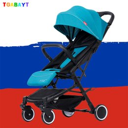 $enCountryForm.capitalKeyWord Canada - TGABAYT Baby Stroller Trolley Car Wagon Folding Baby Carriage k Arabas By Lightweight Pram Stroller for RU