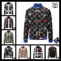 3d bead patterns 2018 - 2018 G***I fashion casual street novelty luxury designer windbreaker jacket men's zipper design tiger pattern 3D pr