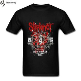 digital tee shirts 2020 - Direct Digital Printing Men for Men T-shirts Slipknot O-Collar 100% Cotton Short Sleeve Men's Tee Shirts discount d