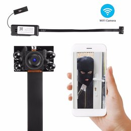 mini nanny cams 2019 - On Sale HD 1080P WIFI Mini Camera DIY Module Wireless IP Cam Nanny Security Cameras for Android iPhone APP Motion Detect