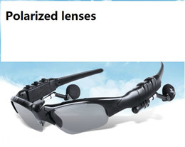 SunglaSSeS chineSe online shopping - Polarized Wireless Bluetooth Outdoor Sunglasses Sun Glasses Stereo Handsfree Headset Earphones Earbuds for smart phone in retail