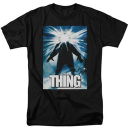 Shirt X S Australia - Official The Thing John Carpenter 1982 Movie Poster T-shirt S M L X 2X 3X 4X 5X Mens 2018 fashion Brand T Shirt O-Neck 100%cotton