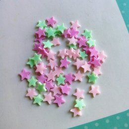 Chinese  decor diy Tanduzi 100g Star Clay Sprinkle Polymer Clay Star Flatback Cabochon Deco Parts Phone Beauty Decoration DIY manufacturers
