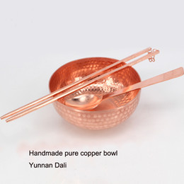 $enCountryForm.capitalKeyWord NZ - Manual craft copper and brass tableware pure copper bowl chopsticks and spoon