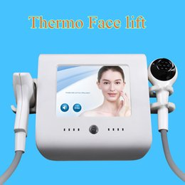 Radio cool online shopping - RF radio frequency Thermal Lift Anti Aging Vacuum RF with cooling beauty machine spa facial machine CE
