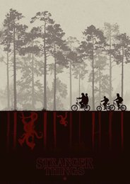 China CANVAS Stranger Things TV Series Art Silk Print Poster 24x36inch(60x90cm) suppliers